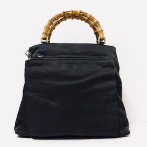 Gucci bamboo hobo shoulder handbag